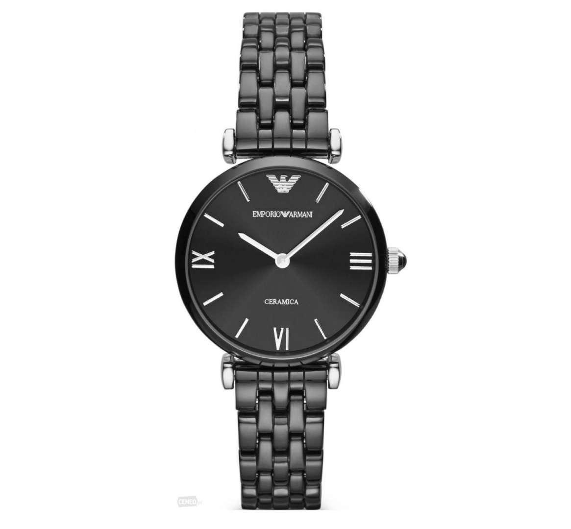שעון יד אנלוגי לאישה emporio armani ar1487 אמפוריו ארמני