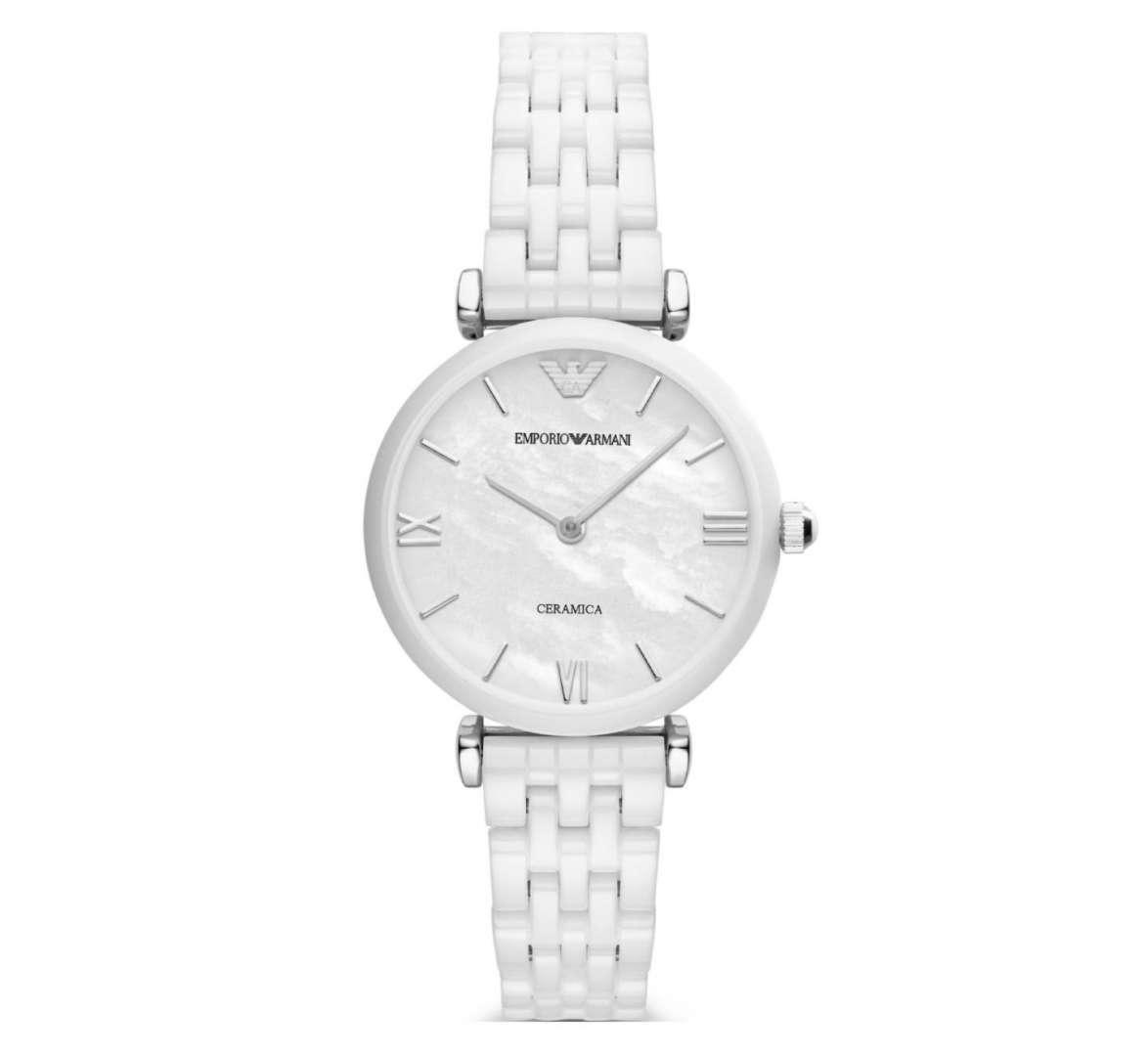 שעון יד אנלוגי לאישה emporio armani ar1485 אמפוריו ארמני