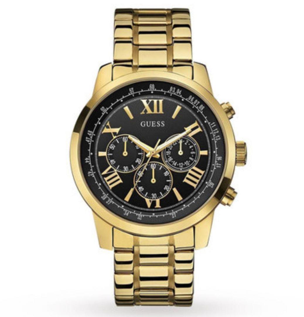 שעון יד אנלוגי דגם: guess W0379G4 גס