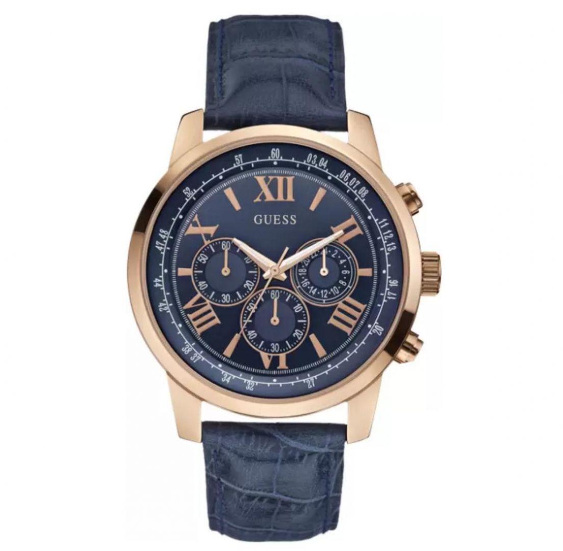 שעון יד אנלוגי דגם: guess W0380G5 גס