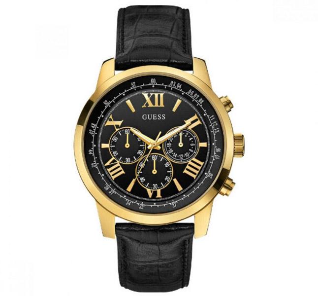 שעון יד אנלוגי דגם: guess W0380G7 גס