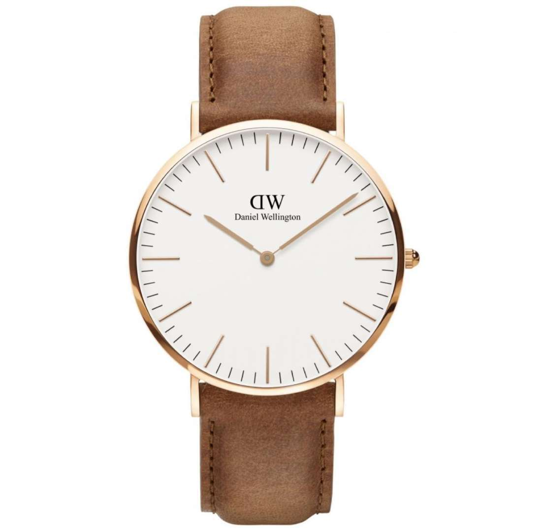 שעון יד אנלוגי daniel wellington dw00100109 דניאל וולינגטון