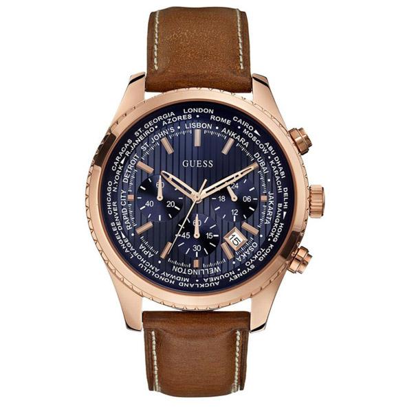 שעון יד אנלוגי דגם: guess W0500G1 גס