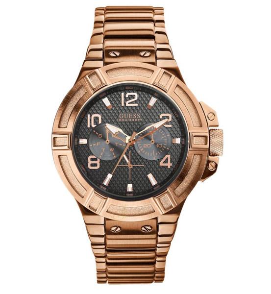 שעון יד אנלוגי דגם: guess W0218G3 גאס