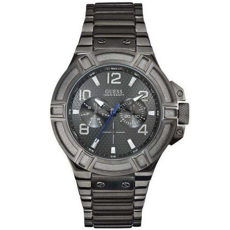 שעון יד אנלוגי דגם: guess W0218G1 גאס
