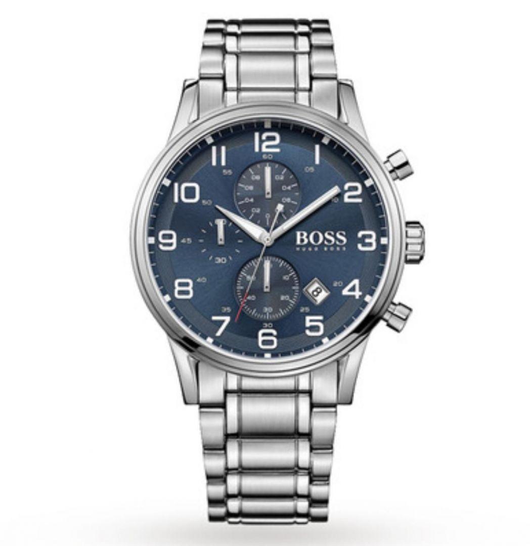 שעון יד אנלוגי לגבר hugo boss 1513183 הוגו בוס