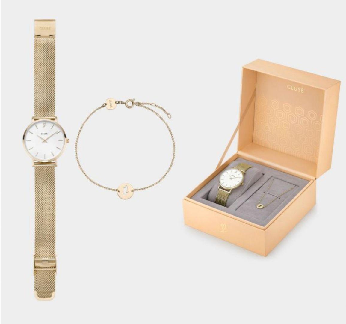 שעון יד אנלוגי cluse clg012 קלוז