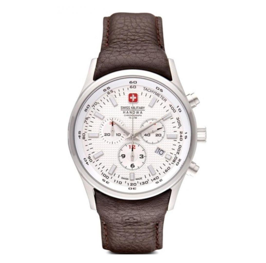 שעון יד אנלוגי swiss military 06-4156.04.001.05 סוויס מיליטרי הנואווה