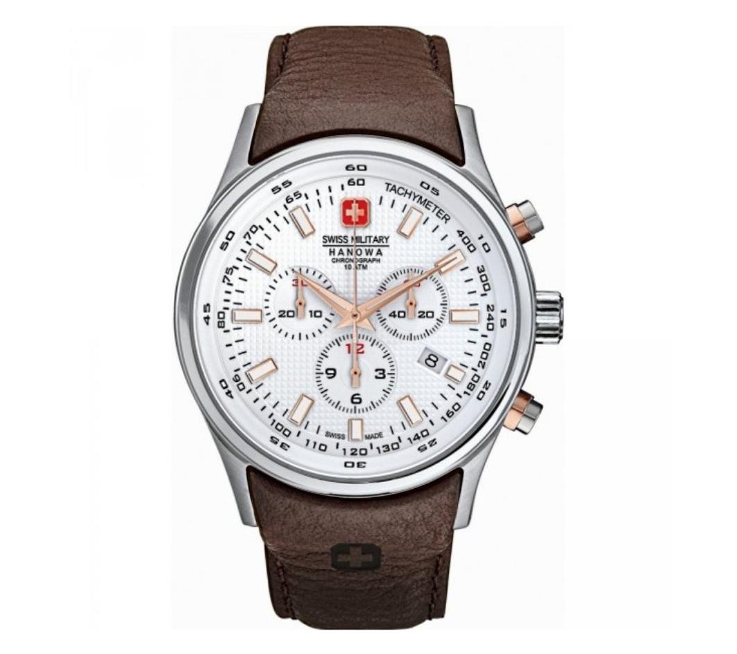 שעון יד אנלוגי swiss military 06-4156.04.001.09 סוויס מיליטרי הנואווה