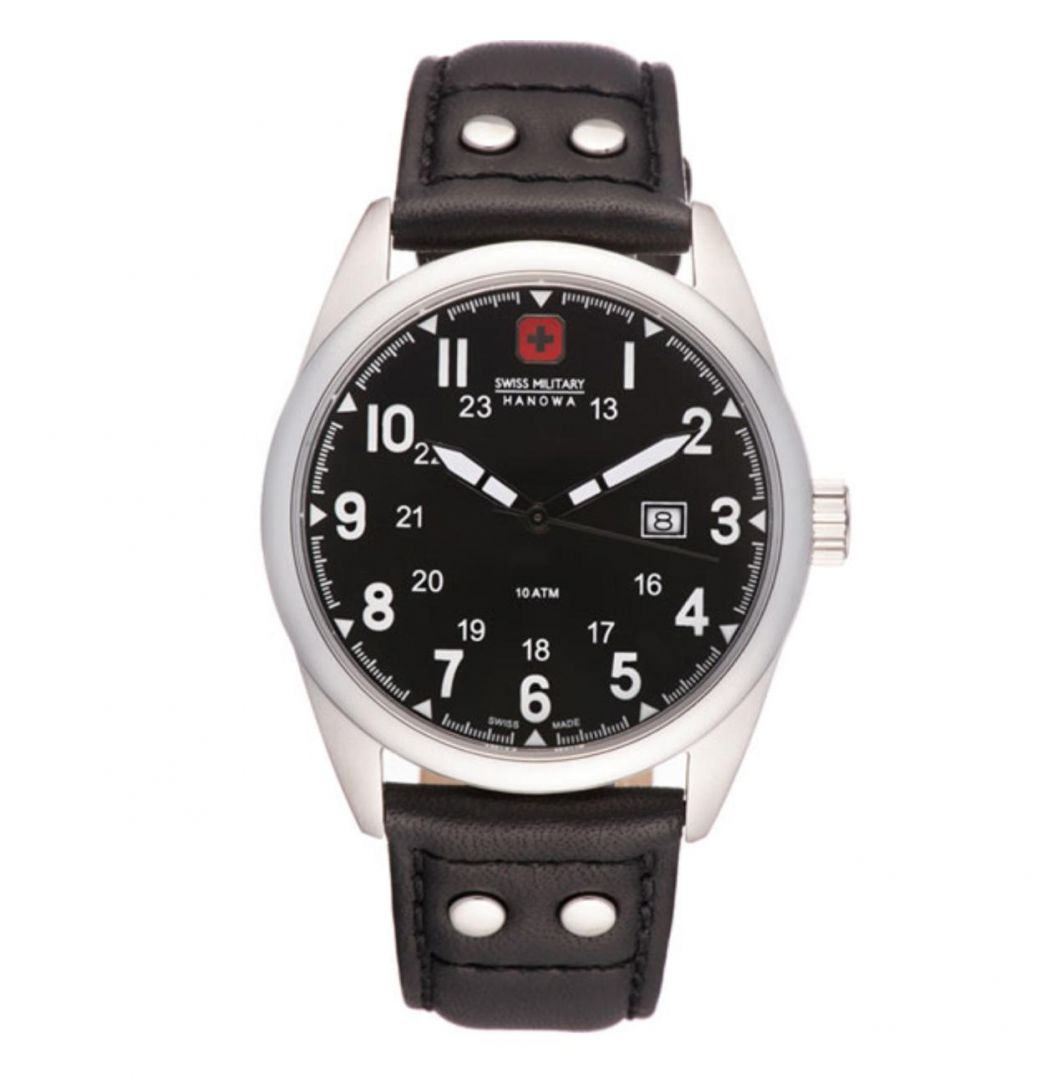 שעון יד אנלוגי swiss military 06-4181.04.007 סוויס מיליטרי הנואווה
