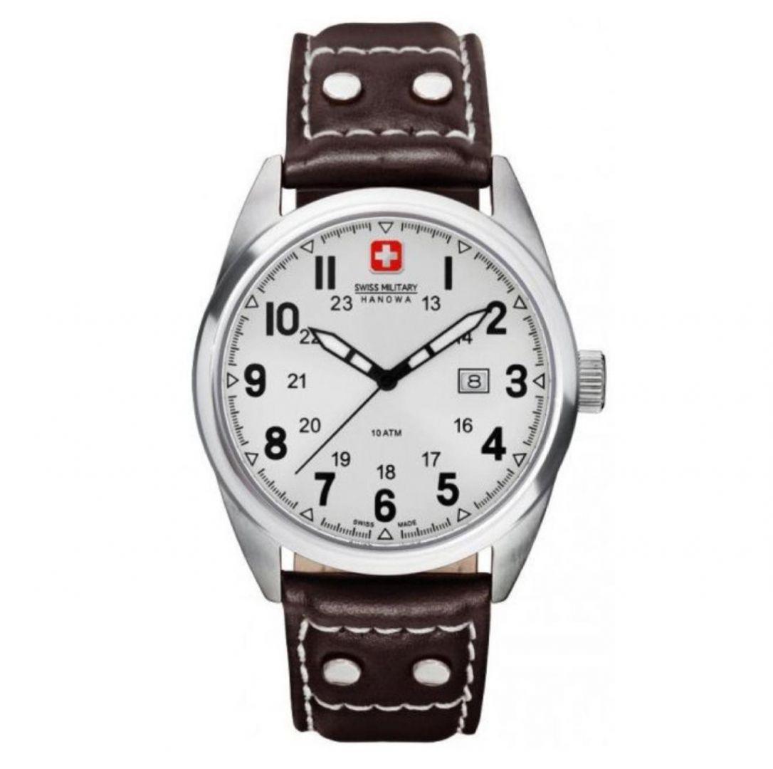 שעון יד אנלוגי swiss military 06-4181.04.001 סוויס מיליטרי הנואווה
