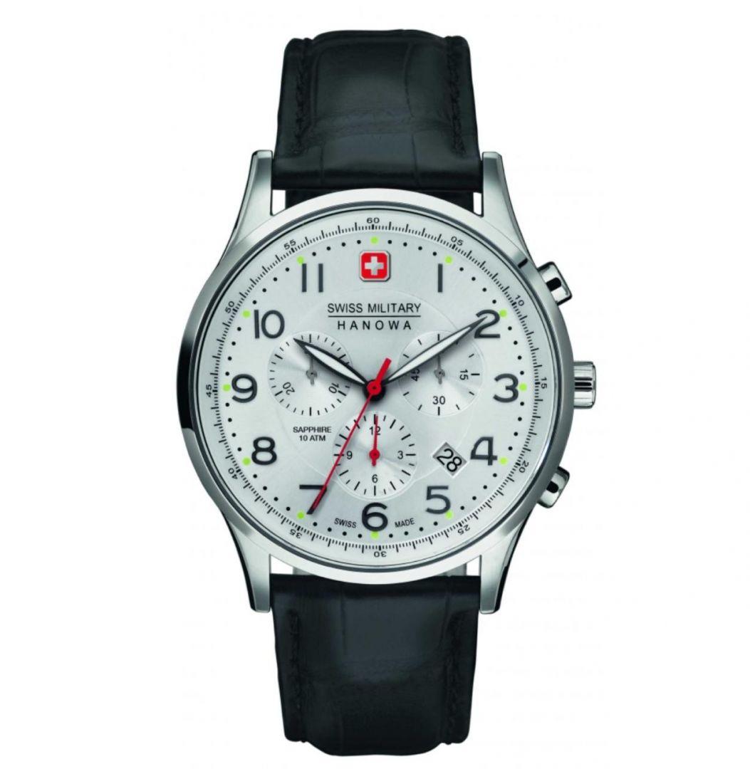 שעון יד אנלוגי swiss military 06-4187.04.001 סוויס מיליטרי הנואווה