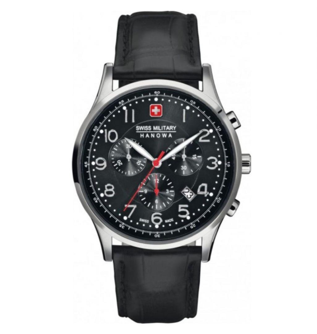 שעון יד אנלוגי swiss military 06-4187.04.007 סוויס מיליטרי הנואווה