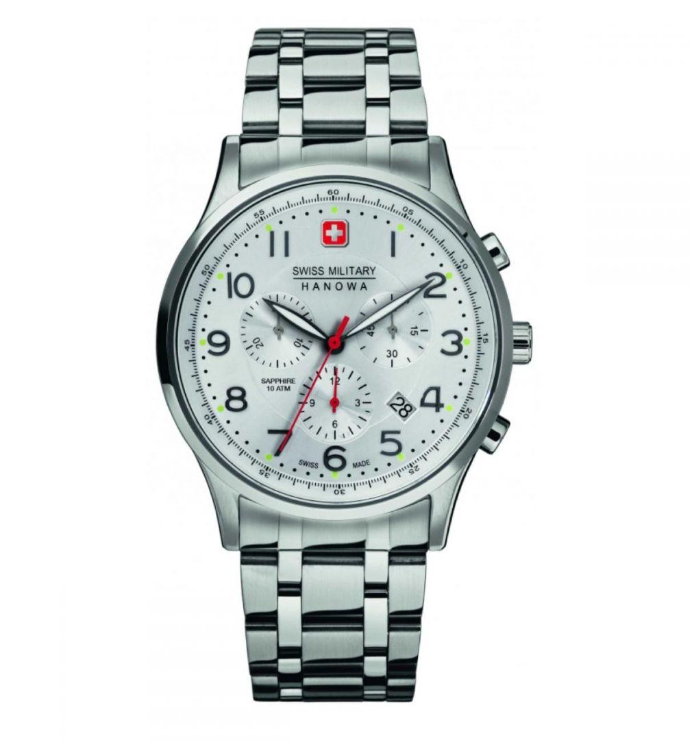 שעון יד אנלוגי swiss military 06-5187.04.001 סוויס מיליטרי הנואווה