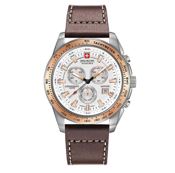 שעון יד אנלוגי swiss military 06-4225.04.001.09 סוויס מיליטרי הנואווה