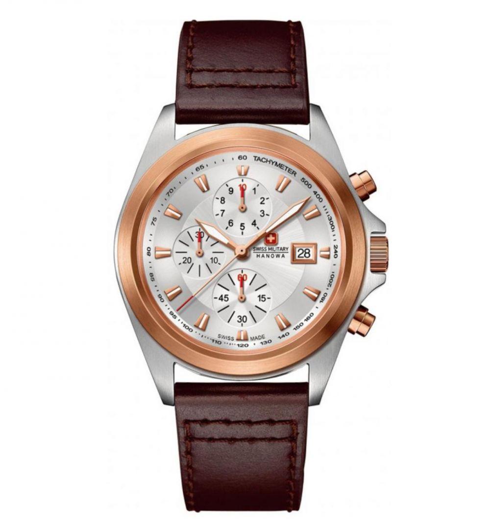 שעון יד אנלוגי swiss military 06-4202.1.12.001 סוויס מיליטרי הנואווה