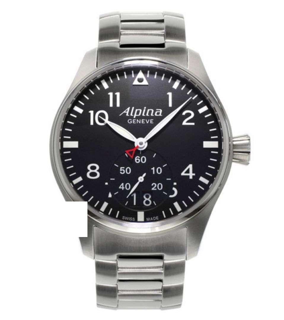 שעון יד אנלוגי alpina al-280b4s6b אלפינה