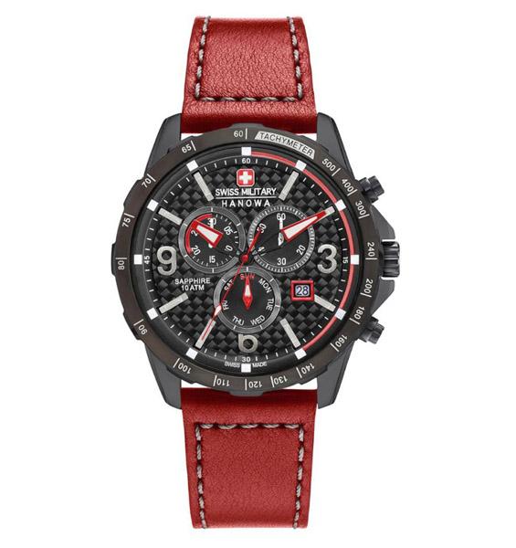 שעון יד אנלוגי swiss military 06-4251.13.007 סוויס מיליטרי הנואווה