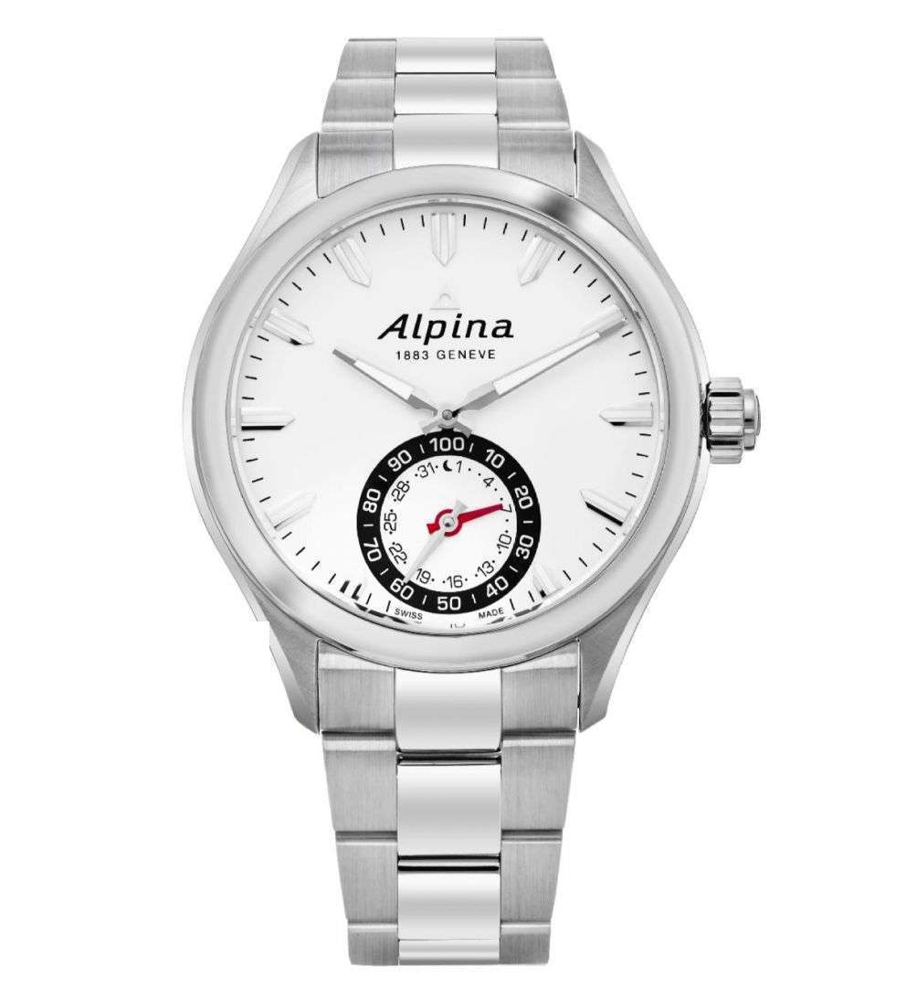 שעון יד אנלוגי alpina al-285s5aq6b אלפינה