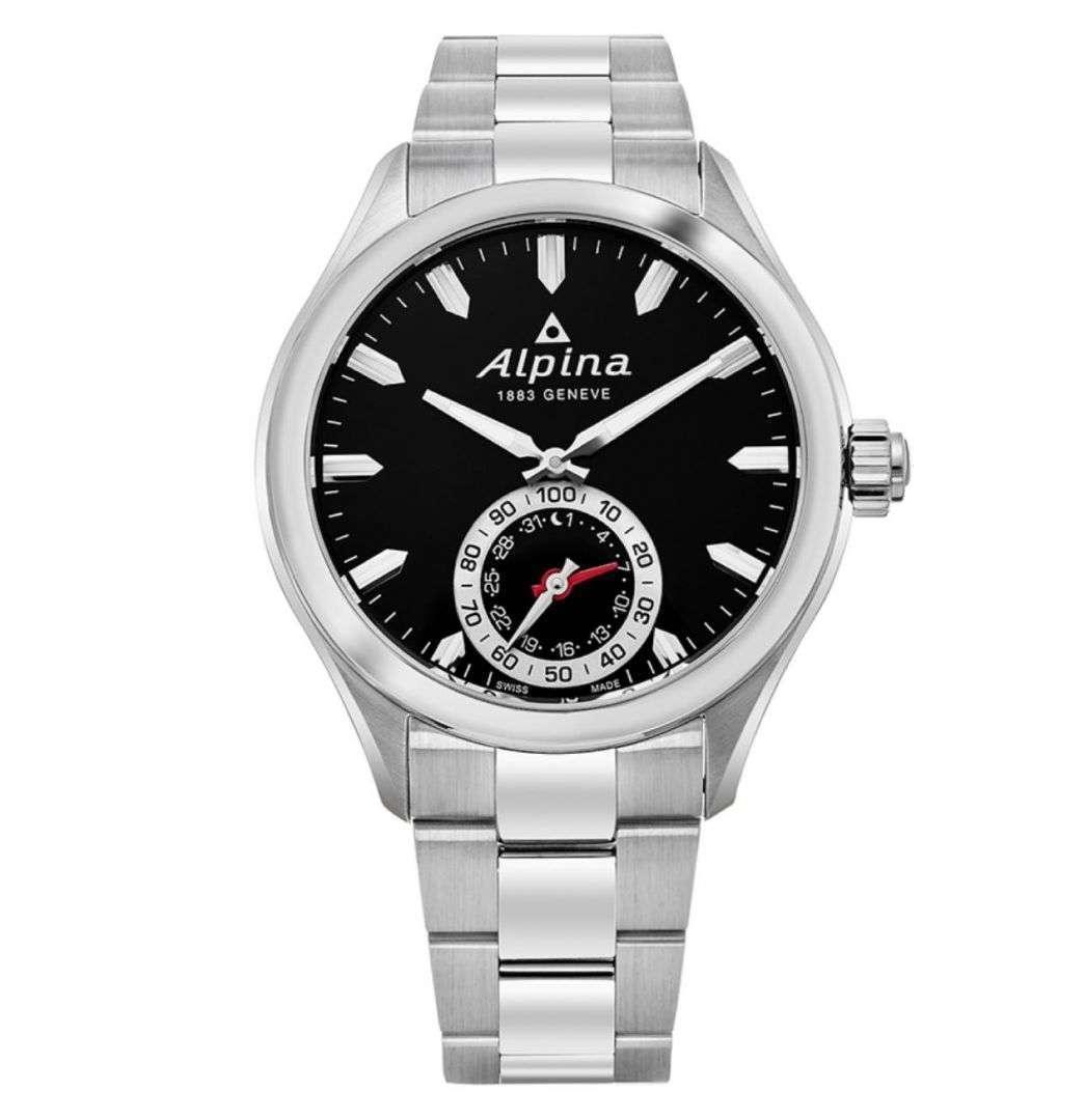 שעון יד אנלוגי alpina al-285bs5aq6b אלפינה