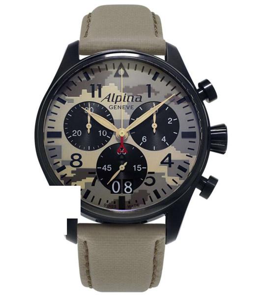 שעון יד אנלוגי alpina al-372mly4fbs6 אלפינה